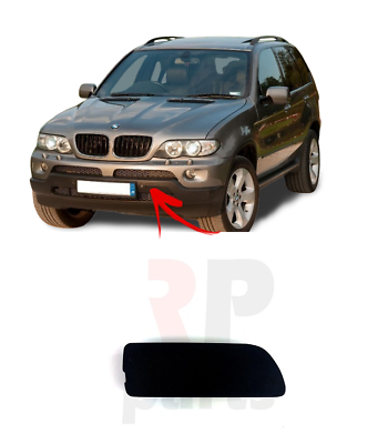 POUR BMW X5 Série E70 06-10 Nouveau Pare-chocs avant Tow Hook Eye Cover Cap Gauche N//S