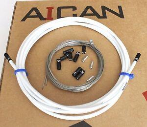 Aican-Premium-Velo-Shift-Derailleur-Cable-Housing-Set-Kit-JAGWIRE-Blanc