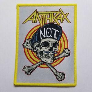 Anthrax-Tejido-Parche