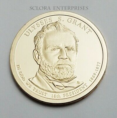 """2011 S Ulysses S Grant Presidential Dollar Gem Deep Cameo /""""PROOF/"""" US Mint Coin"""