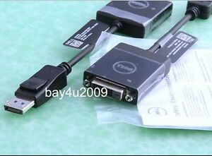 Details about Dell Universal Display Port DP to DVI adapter DP/N OKKMYD  DisplayPort Cable
