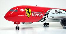 "Phoenix 1/200 Alitalia ""Ferrari Livery"" B787-8 ""VERY RARE"" Reg #  I-FER 787"