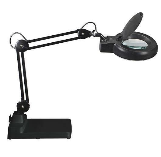 [Ref:8263190] MAUL Lampe loupe MAULviso sur pied Noir