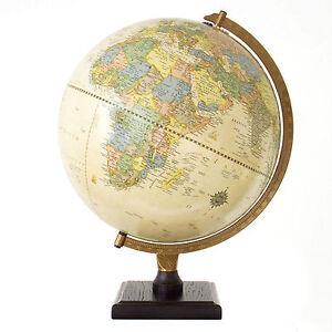 Bradley antique desktop globe world globe map geography home decor image is loading bradley antique desktop globe world globe map geography gumiabroncs Images