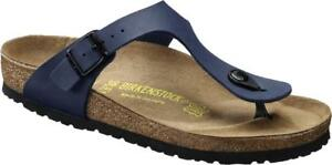 Sandalo Infradito Birkenstock Gizeh Uomo - Blu - 143621