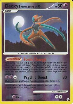 Pokemon Card Deoxys LV.50 Legends Awakened 24//146 NEAR MINT Reverse Holo Rare!!!