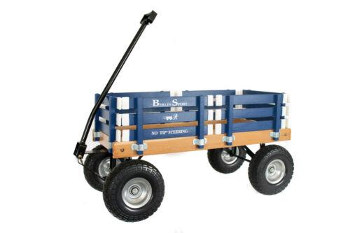 KID/'S Pull Wagon Amish-Berlin Flyer F410 Sport Express Wagon bleu