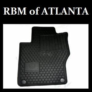 Genuine mercedes benz all weather rubber floor mats 06 11 for Mercedes benz ml350 rubber floor mats
