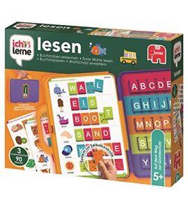 Jumbo-Spiele-Ich-lerne-lesen-Schreiben-Lernspiel-Kleinkinder-Lernspielzeug-NEU