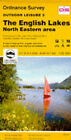 Outdoor Leisure Maps: Sheet 5: English Lakes - North Eastern Area by Ordnance Survey (Sheet map, folded, 1989)