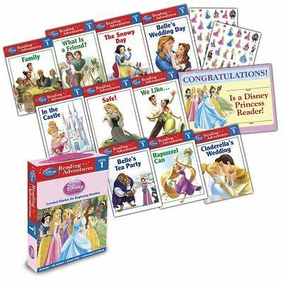 Reading Adventures Disney Princess Level 1 Boxed Set 10 NEW RH Disney FAST SHIP
