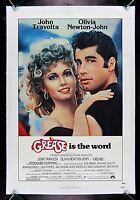GREASE * CineMasterpieces 1SH ORIGINAL VINTAGE MOVIE POSTER MUSICAL 1978