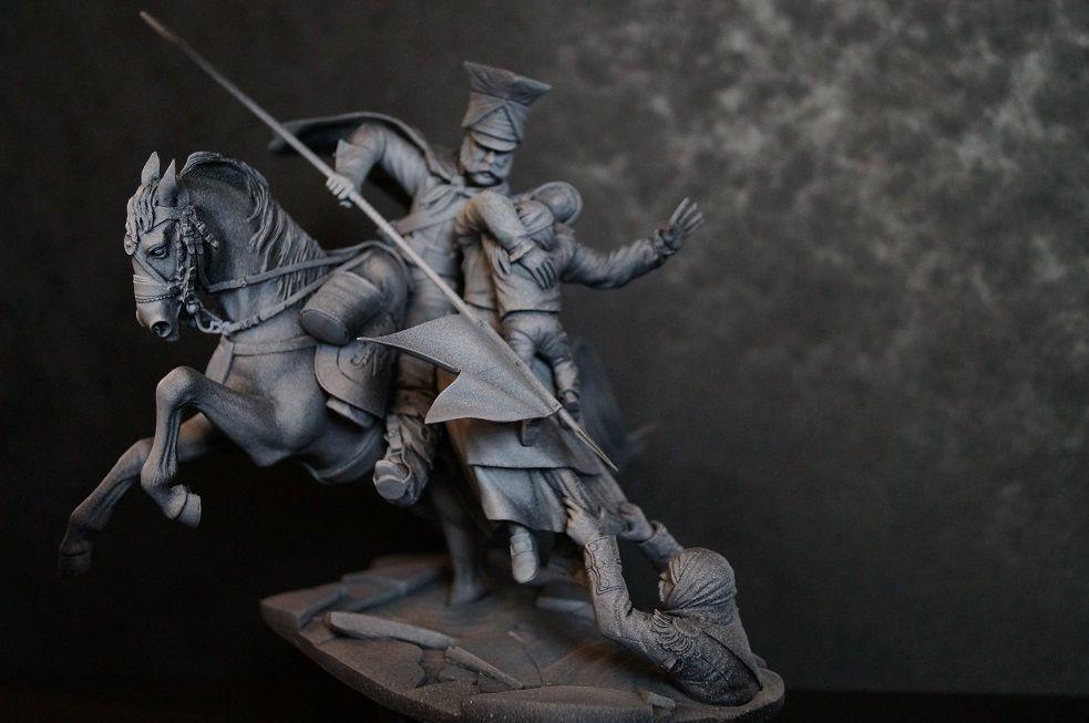 SALE - Berezina 1812 - (Napoleonic) 90mm
