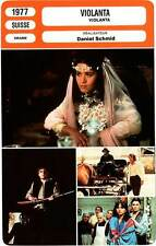 FICHE CINEMA : VIOLANTA - Bosé,Schneider,Castel,Depardieu,Schmid 1977