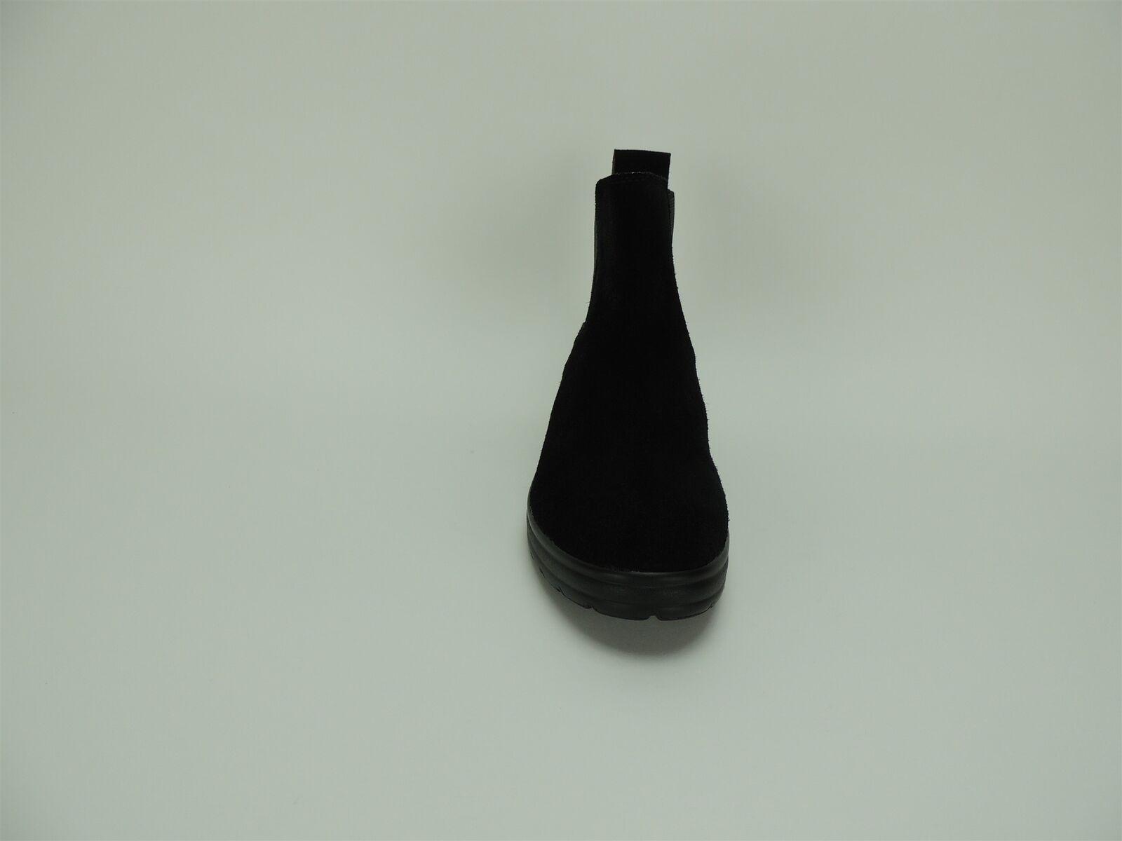 Lucky Brand Mujer Gabee tiraren Gamuza Botines Botines Gamuza Negro Engrasado M 2f165f