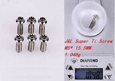 J/&L Super Titanium//Ti Stem Bolts-for 3T,Easton,ENVE,Zipp,FSA,Ritchey-1g* 6pc