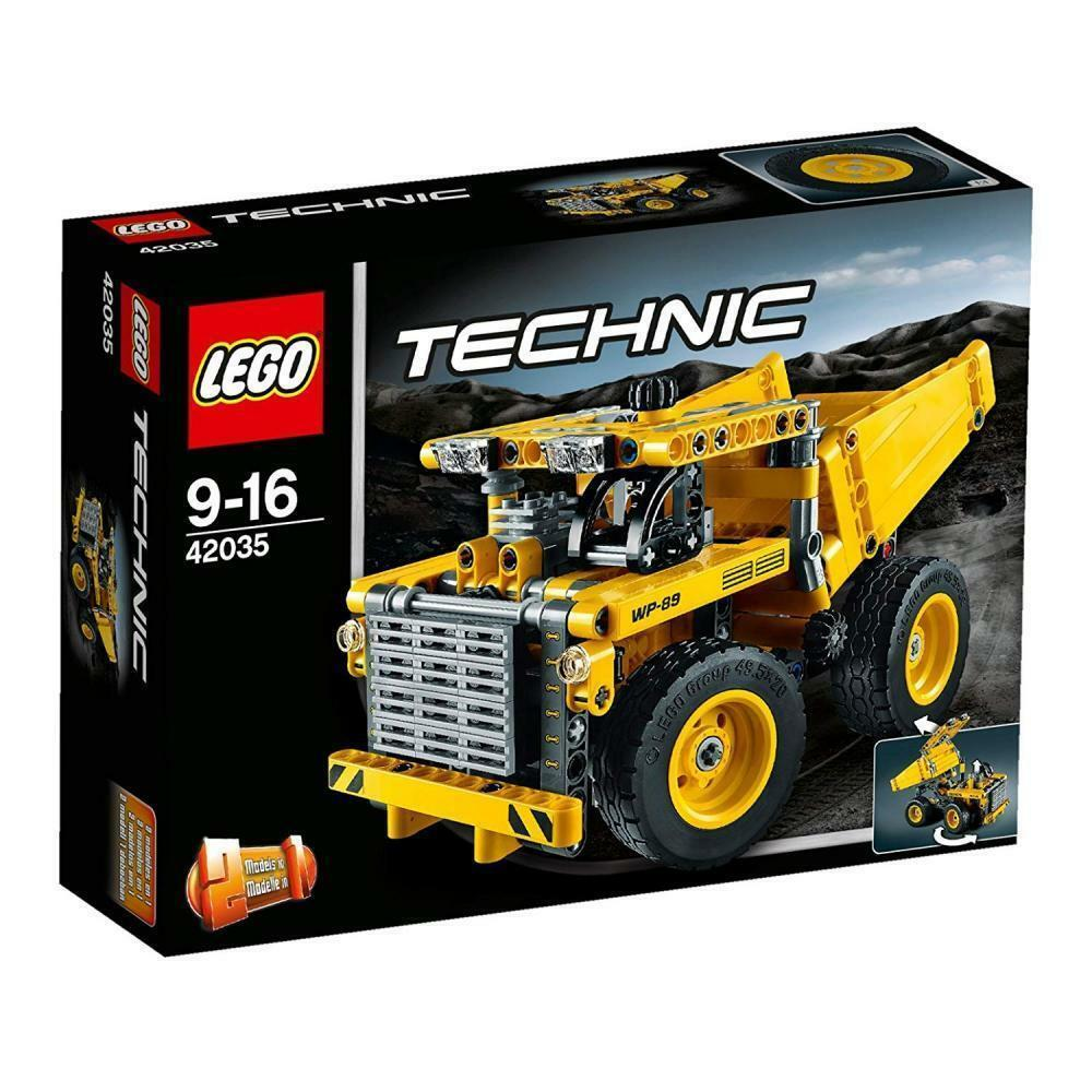 LEGO Technic 42035 Mining Truck Set new sealed box now retirot set