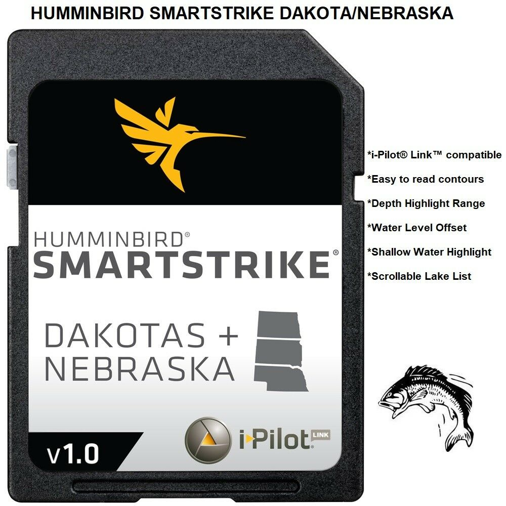 HUMMINBIRD SMARTSTRIKE DAKOTA NEBRASKA Searches For The Best Fishing Locations