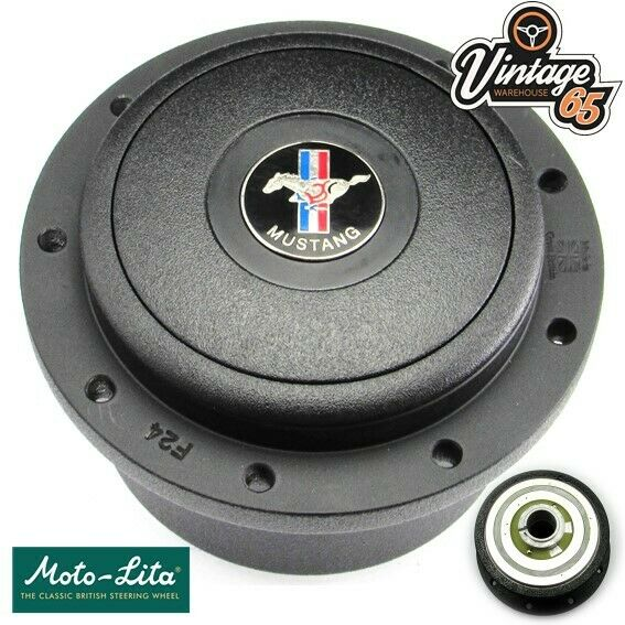Ford Mustang USA 1963 > 66 Fastback Coupe Steering Wheel Boss Fitting Kit Black