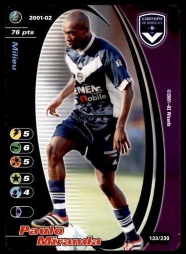 Wizards of the Coast Francia 2001-Girondins Bordeaux Paulo Miranda Nº 133