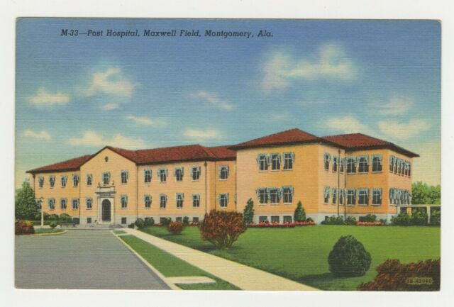 Al Postcard Post Hospital - Maxwell Field