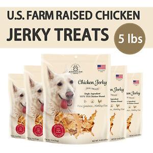 USA-Farm-Raised-Chicken-Jerky-Treats-For-Dog-All-Natural-5-lbs
