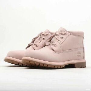 venta barata del reino unido calidad confiable gran selección Timberland Nellie Chukka Boots (Women's 7 & 7.5) Light Pink Nubuck ...