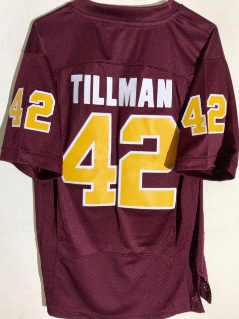 new style 10c1c 52fad Adidas Premier NCAA Jersey Arizona State Sun Devils Pat Tillman Burgundy sz  XL