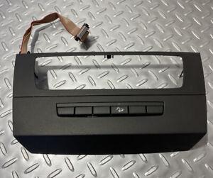 08-13-BMW-E90-E92-E93-M3-Center-Console-Radio-Trim-Cover-Heated-Buttons-Tray