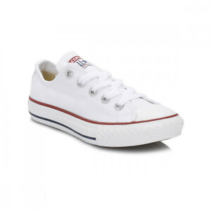 c994be2742e Image is loading Converse-Junior-White-All-Star-OX-Trainers-UK-