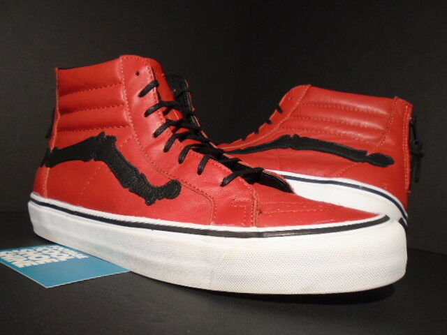 d268cb1009847f 2014 VANS Sk8-hi Reissue Zip LX Blends Design Chili Pepper Red White Black  10.5 for sale online