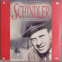 Schindler Archive Film Footage Nazi - Jews Real Told Story Laserdisc
