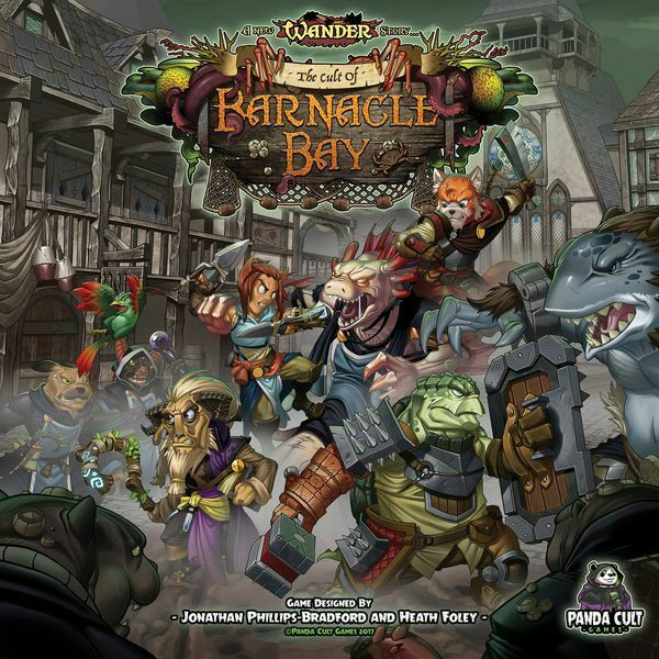 New Wander  The Cult of Barnacle Bay with KS Exclusive Extras Box w  Free Ship