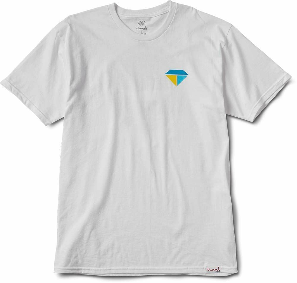 Diamond Supply Co Bolts And Boats S S T-shirt white