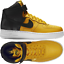 Nike-Air-Force-1-High-07-Lv8-Black-Mustard-Men-039-s-Shoes-Lifestyle-Comfy-Sneakers thumbnail 1