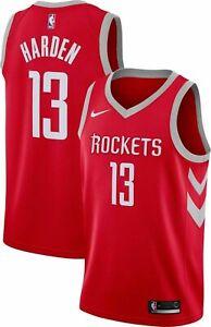 best loved 1aea7 43973 Nike Swingman Icon Edition Houston Rockets James Harden #13 Jersey Sz S / 40