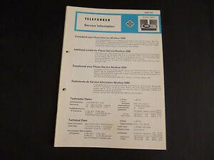 Original-Service-Manual-Telefunken-Musikus-1080-X