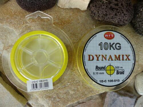 Wft round Dynamix 150m original bobina trenzado era angel cuerda en amarillo 0,066 €//m