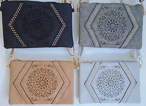 Clutch Bag//Shoulder Bag in a Choice of 4 Colours