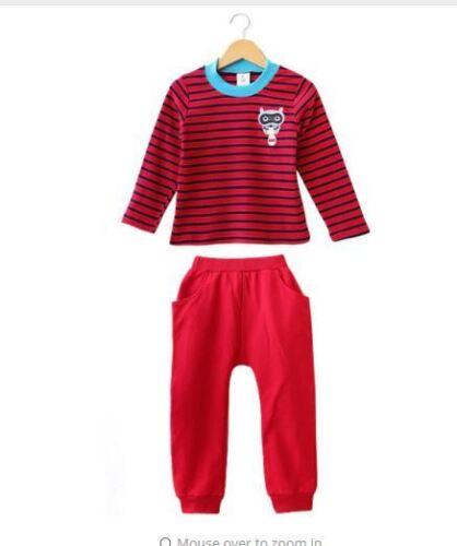 New Clothes Kids Baby Set Outfits Children Hoodies+Pants Boys Sport Suit