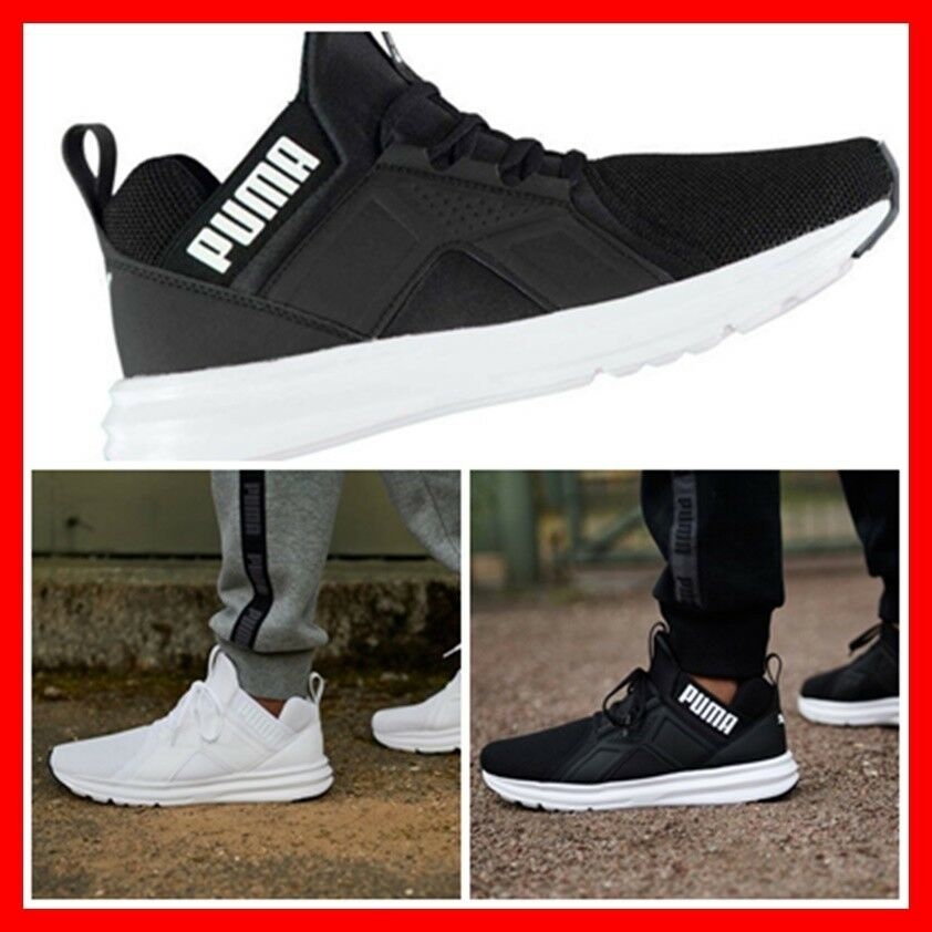 NEW UK 7= Puma Mens Mesh Light Weight SOFT FOAM CUSHION Top pull toggle Trainer