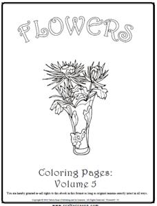 Malbuch 53 Malvorlagen Blumen Nr 5 Ausmalbilder Als Pdf