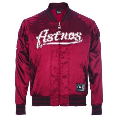 Casey Satin Giubbotto Giubbotto Majestic Astros Majestic 0w8t4Zqx