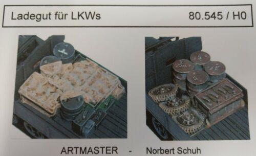 Artmaster 80.545 avente per autocarri camion traccia h0 1:87 smontati resin