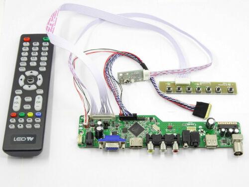 Kit for LP156WH4 N2 TL TV+HDMI+VGA+USB LCD LED screen Controller Driver Board