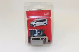 Herpa 012911  Herpa MiniKit  VW T6 Bus silbermetallic  1:87 H0 NEU in OVP