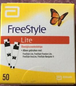 50-FreeStyle-LITE-Teststreifen-neu-OVP-MHD-07-2020-6x-verfuegbar