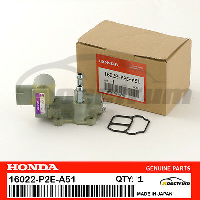 HONDA ACURA GENUINE OEM IDLE AIR CONTROL VALVE 16022-P2E-A51 FOR CIVIC/ DEL SOL