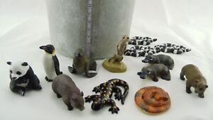 Sammel-Tiere-Panda-Schlange-Seehund-Salamander-Baer-Made-in-China-Wildtiere-Sp181