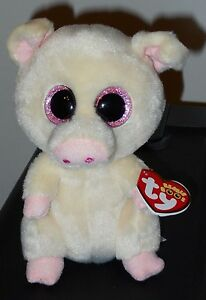 4537a6022f8 Ty Beanie Boos ~ PIGGLEY the Pig (6 Inch)(1st Color RETIRED Version ...